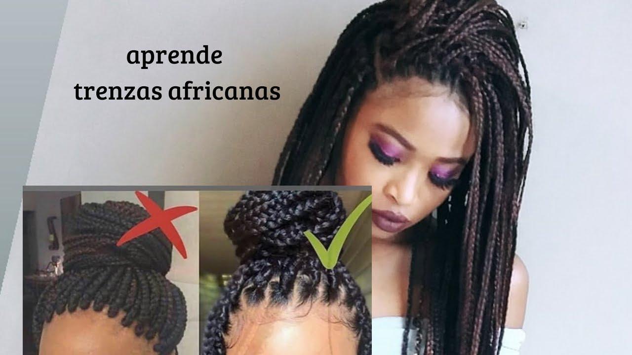 Mejor Método De Hacer Trenzas Africanas Crochet Aprende Consejos Y Tips Youtube