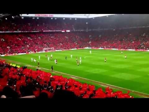 Manchester United vs Swansea City 12/05/2013