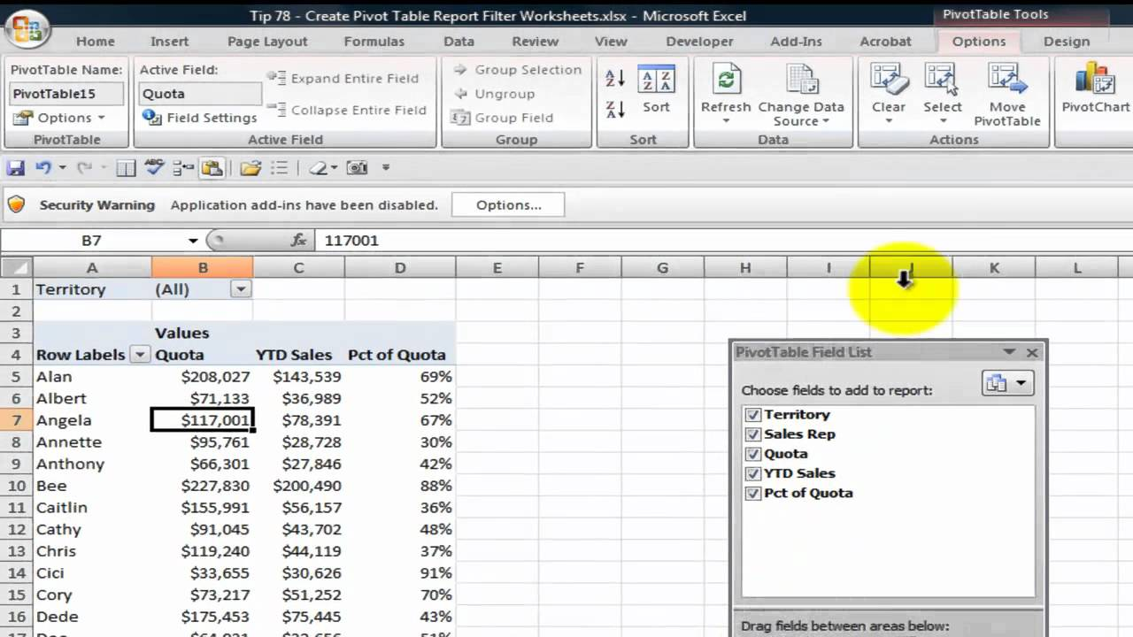 also how to generate multiple reports from one pivot table youtube rh