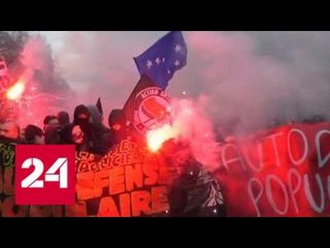 Парижане снова вышли на протест против полицейского насилия
