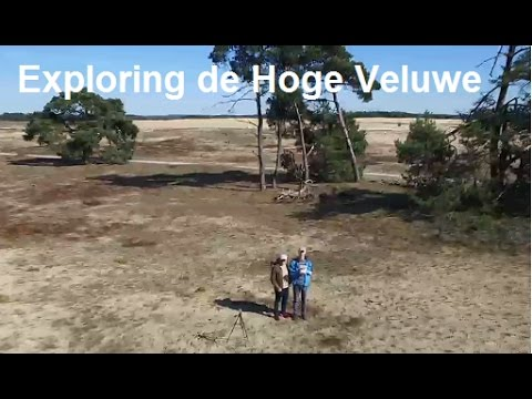 Nationaal park de hoge veluwe, Netherlands, Drone shots (DJI phantom 3) and cycling around