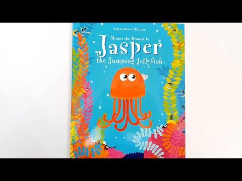 🌊 MInnie The Minnow & Jasper The Jumping Jellyfish 🌊 Bedtime Stories 🌊 Children's Books Read Aloud 🌊