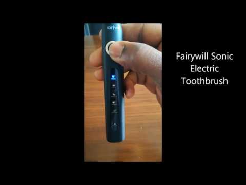 Philips Sonicare 6100 protectiveClean & Fairywill toothbrush overview
