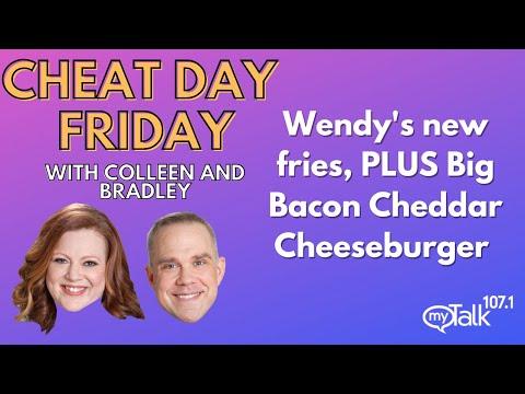 Cheat Day Friday: #Wendys new fries, plus Big Bacon Cheddar Cheeseburger