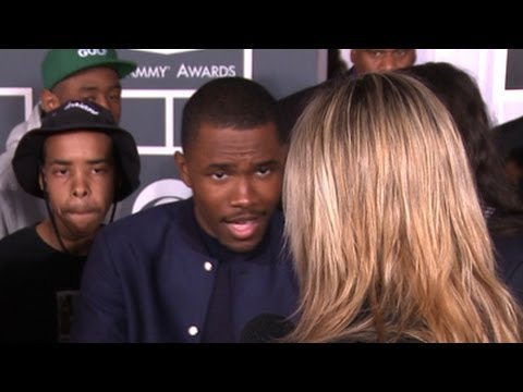 Frank Ocean, nominee for Album of the Year/Best new Artist: Grammy Awards