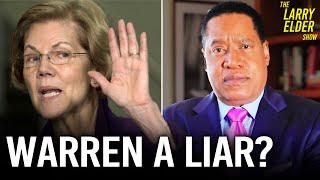 Why Warren Confronted Bernie After the Debate | Larry Elder Show