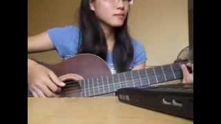Chiếc lá đầu tiên - Guitar Cover - RubyNguyen