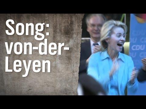Uschi-von-der-Leyen-Song   extra 3   NDR