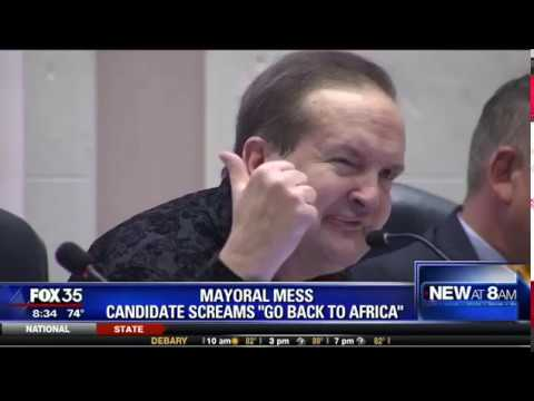 "Mayoral Mess: Candidate screams ""Go Back to Africa"""