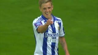 Sören Rieks placerar in 1-0 för Göteborg - TV4 Sport