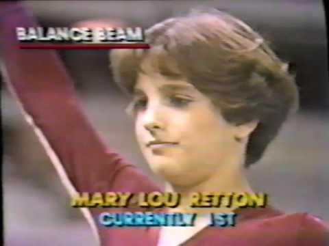 1981 US Sports Festival gymnastics Retton Galimore