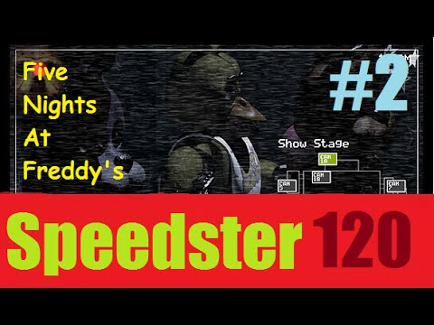 Speedster Plays Five Nights at Freddy's | Episode 2: MY LUCK