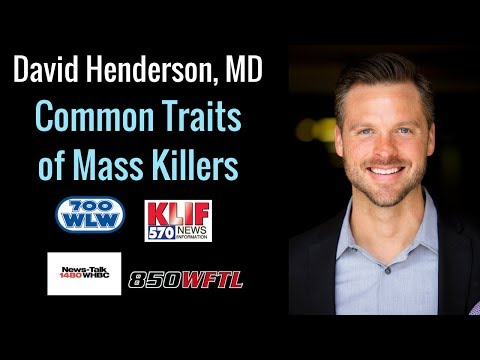 Traits of a Mass Killer | Dr. David Henderson, Four Stones Collaborative Group