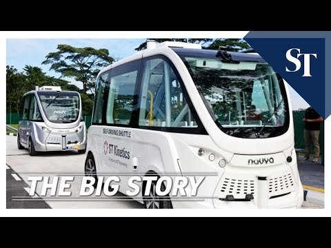 Self-driving vehicles in Singapore | THE BIG STORY | The Straits Times