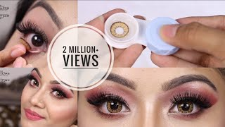 How to Put On Contact Lenses and Remove + Tips on How to Store Contact Lenses thumbnail
