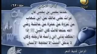 صحيح مسلم - باب مباشرة الحائض فوق الازار
