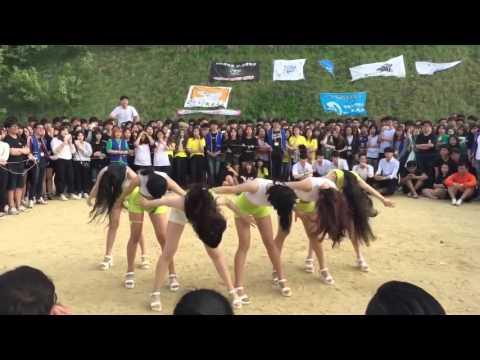 2015 호서대 항공서비스학과 체육대회 축제 공연 풀영상