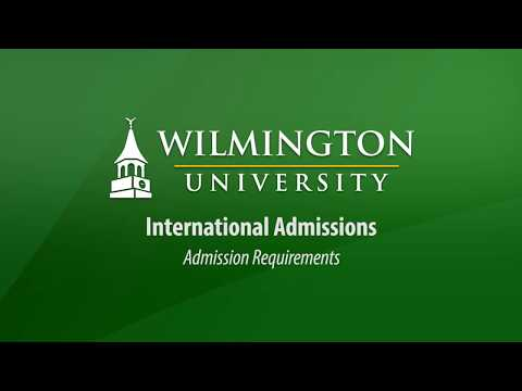 Admissions Requirements For International Students
