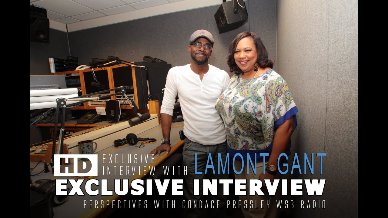 Lamont Gant Interview on Perspectives with Condace Pressley WSB Radio (10/15/2015)