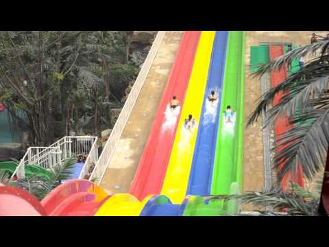 Chengdu Paradise Island Waterpark Overview