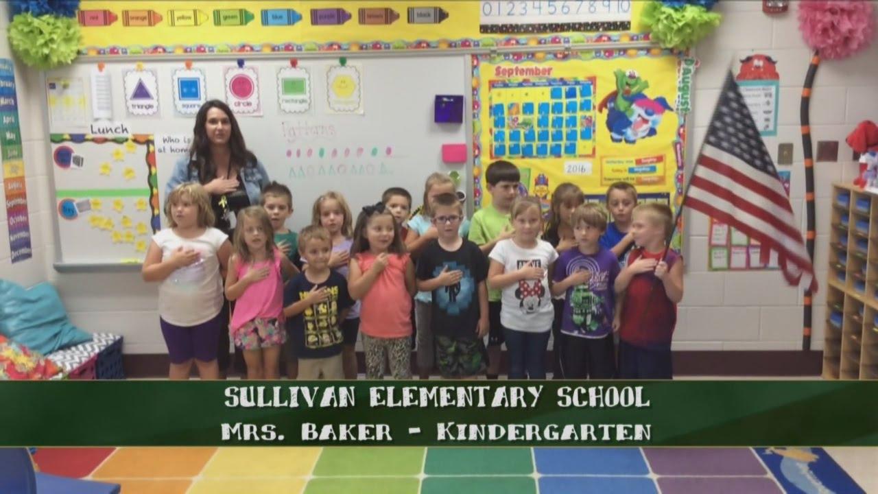Sullivan Elementary School - Mrs. Baker - Kindergarten