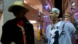 shock g digital underground drops crazy freestyle in an alley in santa monica popkiller pl