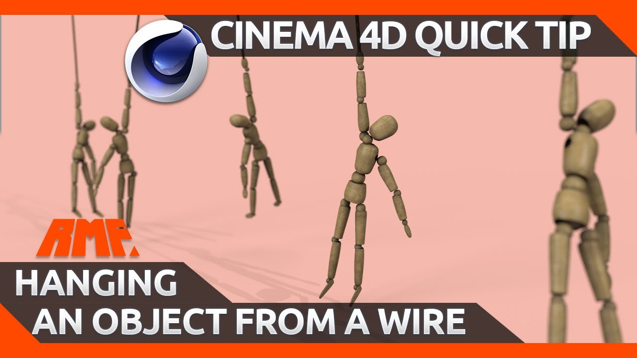 Cinema 4D Quick Tip | Hanging a Dynamic Object from a Wire