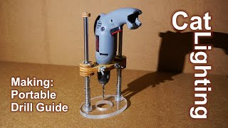 DIY Portable Drill Guide / Router Plunge Base