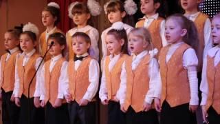 Урок в мышиной школе.  Детский хор