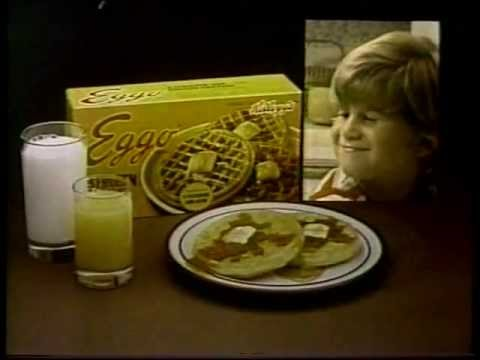 1980 Jason Hervey Eggo Waffles Commercial