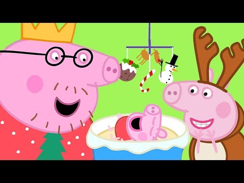 Peppa Pig Official Channel  Visiting Chloe's Family  Peppa Pig Christmas