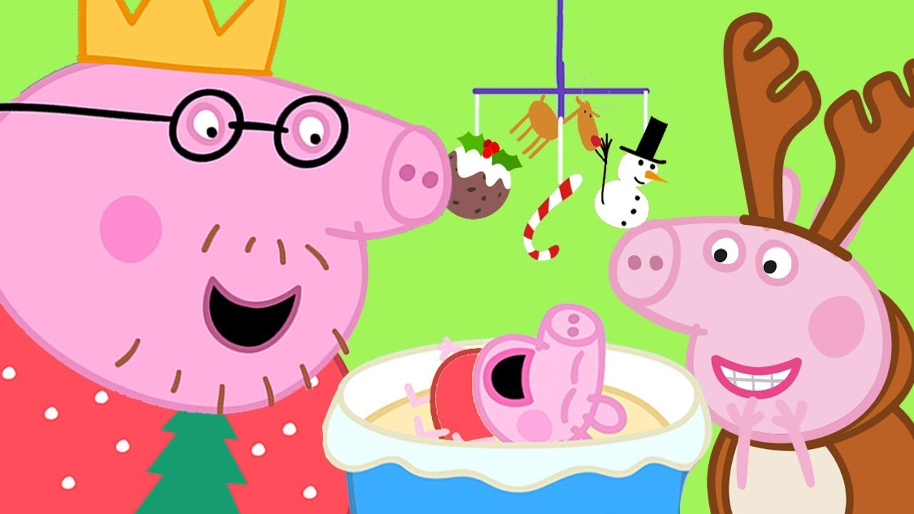 Peppa Pig Official Channel 🎄 Visiting Chloe's Family ...