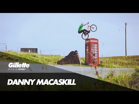 The Rise and Rise of Danny MacAskill | Gillette World Sport