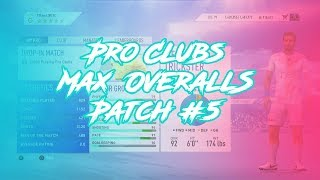 FIFA 19 PRO CLUBS MAX OVERALL   After Patch 1.06   ALL POSITIONS + TIPS