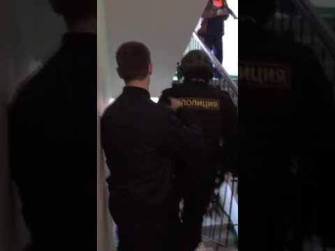 Арест Мальцева. Начало обыска.