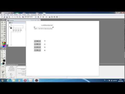 สอนทำแบบฝึกหัดด้วยโปรแกรม Authorware 7