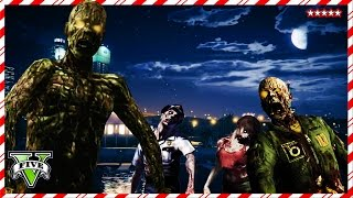 GTA 5 INFECTED Mode! ZOMBIE Mini Game!! - 12Days Of GTA Christmas - Grand Theft Auto 5 Funny Moments