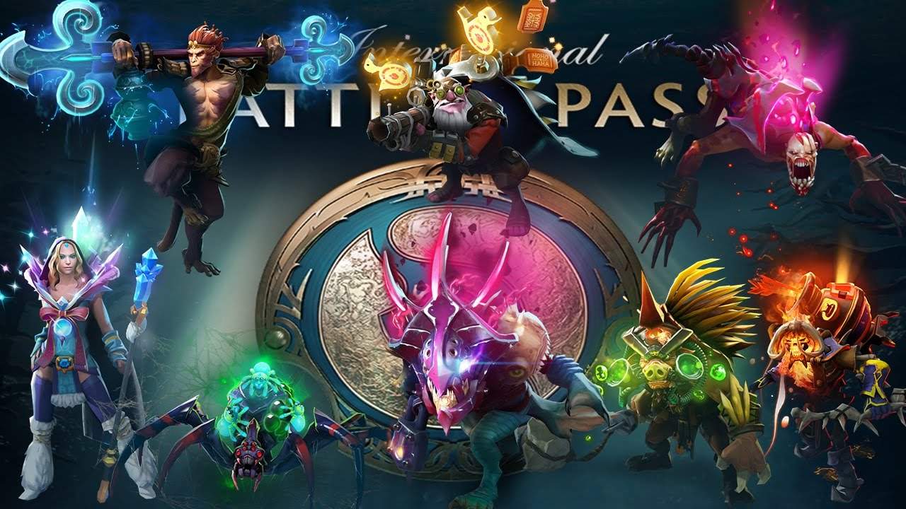 Immortal Treasure I: The International 2017 Battle Pass