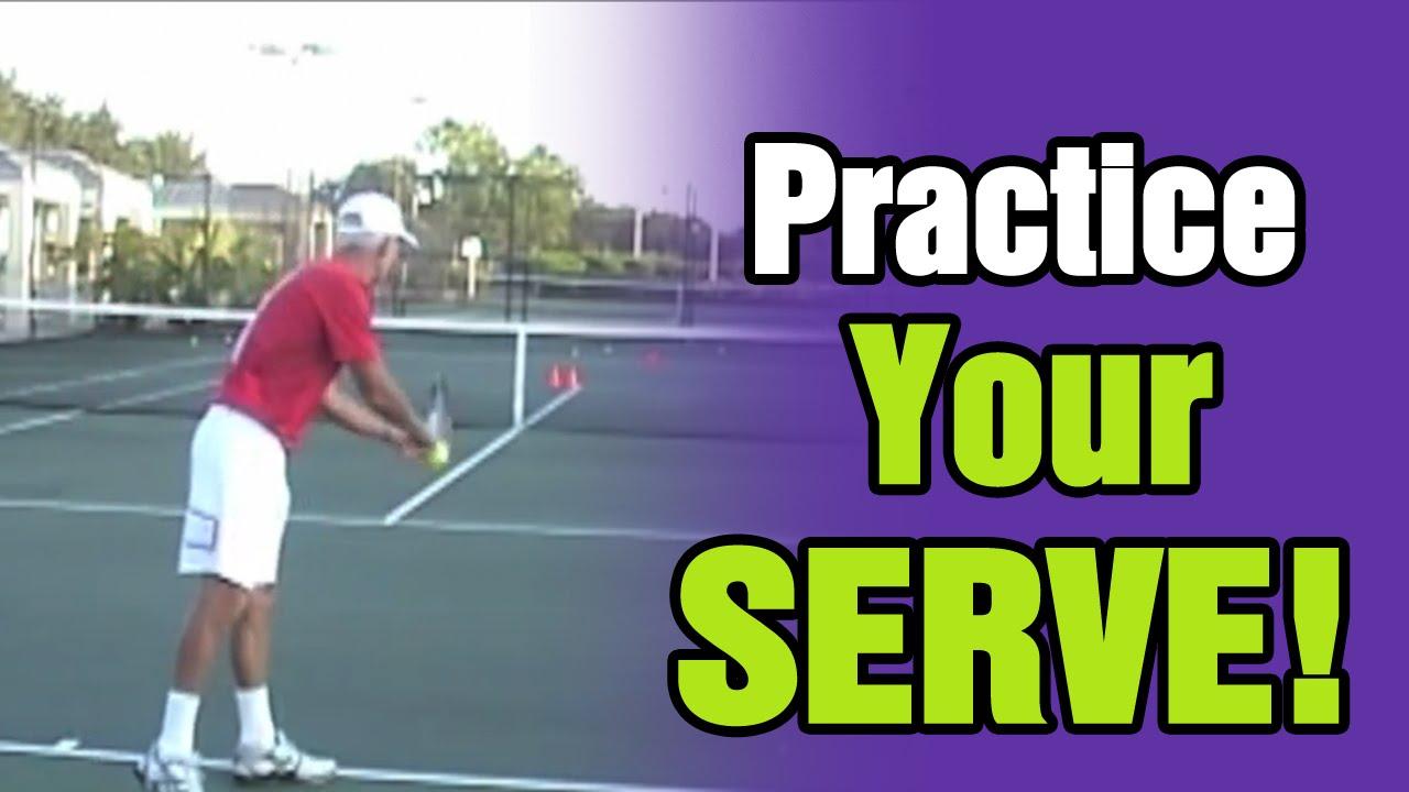 Tennis Serve Drills  How To Practice Your Serve