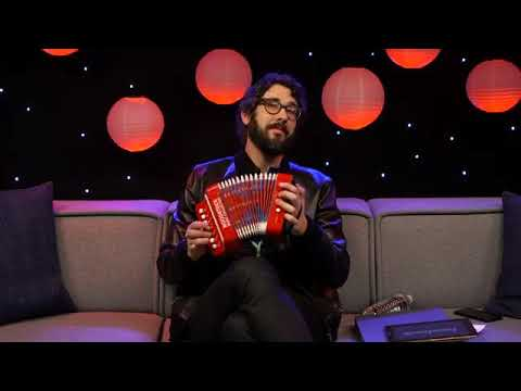 """Josh Groban talks about his new book """" Stage to Stage"""""""