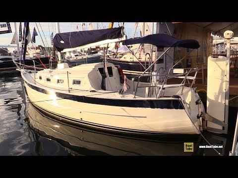 2016 Seaward 32 RK Sailing Yacht - Quick Walkaround - 2017 Annapolis Sail Boat Show