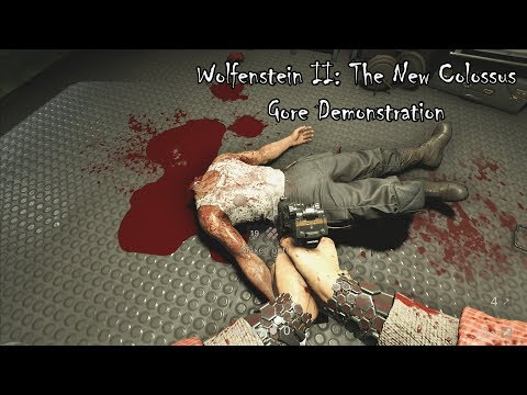 Wolfenstein II (TNC) - Gore Demonstration