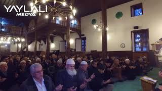 Seydişehir Cuma sabah Namazı Sonrası Seyyid Harun Camiinde Afrin İçin Dua Etti