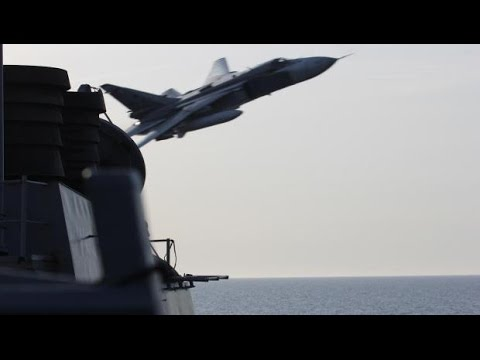 US Navy Ship Encounters Aggressive Russian Fighter Jets in Baltic Sea
