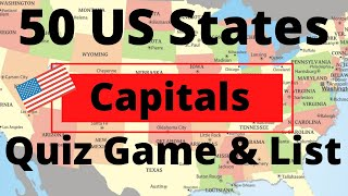 Capital Quiz United Free Usstates Map - BerkshireRegion