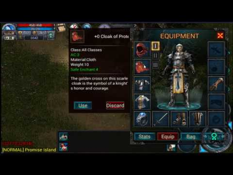 Knight Gameplay And Dungeon Run | Teon: Hardcore Mobile MMORPG - Part 7