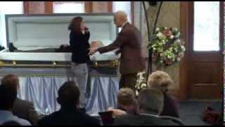 Jackass bad grandpa funeral scene!