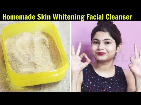 Homemade Skin Whitening Facial Cleanser - Miracle Result | Get Fair Skin