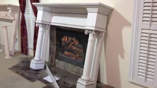 The Wilmington Mantel - Custom Built Fireplace Mantel