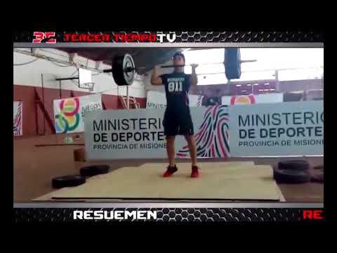 RODRIGO GONZALEZ   LEVANTAMIENTO DE PESAS